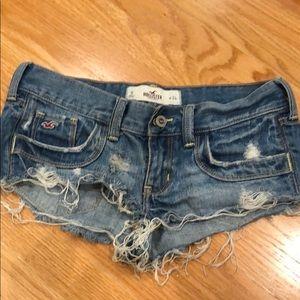 Hollister Denim shorts women's size 0 or size 24